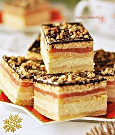 Sweet Recipes, Cake Recipes, Polish Recipes, Food Cakes, Piece Of Cakes, Pavlova, Amazing Cakes, Good Food, Food And Drink