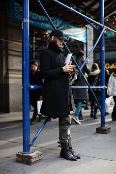 Friday, December 21, 2012  On the Street……. Phone Check, New York