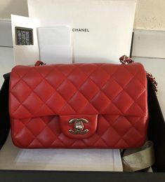 4757a6ec32ca 10 Best Chanel Mini Rectangular images | Accessories, Backpack purse ...