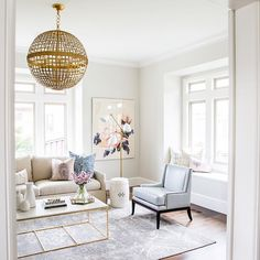 Clean silhouette, but still with a girly feel | design by studio McGee, pic by Lindsay Salazar