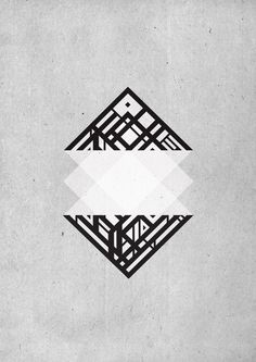 Geometric versions / Organic Rhombus — Designspiration