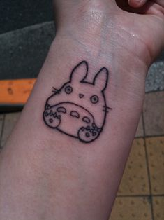 fuckyeahtattoos:    This is tattoo number 8 for me. My new little totoro.  He is to symbolize my love for Studio Ghibli and the past two years in Japan, for was it not for being here that i would of never have found my true love. It was fate that brought us together.  Done by the wonderful Ryu of Ryu's tattoo designs in Fussa, Japan.