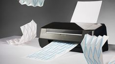 Hydro-Fold: A Printer That Spits Out Easy-To-Make Origami with a different combination. Very cool!