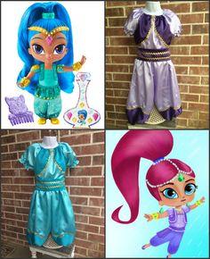 Boutique custom Shimmer and Shine Genie costume Genie Shimmer And Shine Costume, Shimmer N Shine, Birthday Tutu, 4th Birthday Parties, Diy Costumes, Halloween Costumes, Genie Costume, Tutu Outfits, Halloween Disfraces