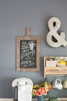 Dining Room Coffee Station | Hometalk