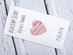 KOLEKCJA HEART - WYJĄTKOWE - - galeriazaproszen - Zaproszenia ślubne