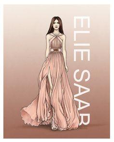"""""""Elie Saab"""" by Tania Santos"""
