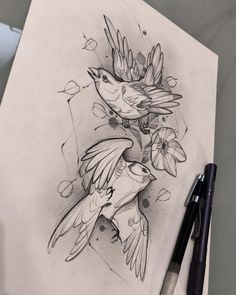 There is another craze is to draw patterns, flowers, mandala patterns in ink. You can say this is like adult drawing at its best! Sketch Tattoo Design, Tattoo Sketches, Drawing Sketches, Tattoo Drawings, Art Drawings, Sketch Ink, Black And Grey Tattoos For Men, Black Tattoos, Desenho Tattoo