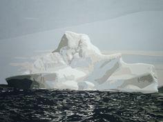 Iceberg, 2012. Paper. 9.25 in x 14 in.