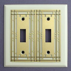 Mission Style Decorative Switch Plates