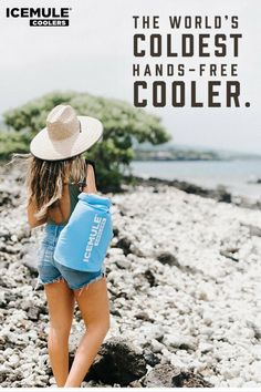 ICEMULE coolers retain solid ice for over 24 hours. That's a full day hiking up the steepest mountains or getting a golden tan at the beach, worth of cold. Get yours today! Camping Glamping, Camping Gear, Camping Hacks, Backpacking, Soft Cooler Bag, Small Cooler, Beach Items, Kayak Accessories, Golden Tan
