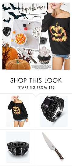 """""""Halloween Party"""" by metisu-fashion ❤ liked on Polyvore featuring Crate and Barrel, polyvoreeditorial, Halloweenparty, polyvoreset and metisu"""