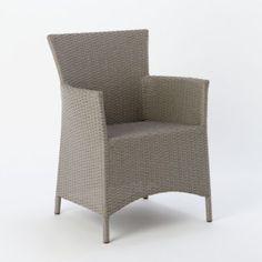 Terrain Woven Wicker Armchair #shopterrain