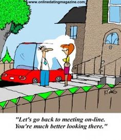 on-line dating humor