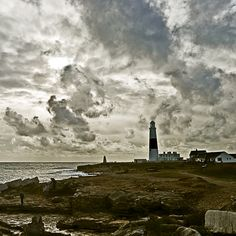 """Portland Bill lighthouse"" by Barry Bolon, via 500px."