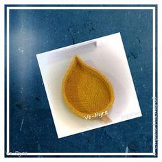Корзина в форме листика фото 1 МК