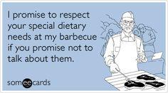 Definitely seems fair... #humor #vegetarian #glutenfree #diet