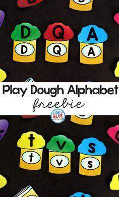 Play Dough Alphabet