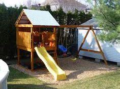 Image result for plan module de jeux Module, Backyard, Park, Gaming, Patio, Backyards, Parks