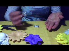 moldes para hacer flores en goma eva