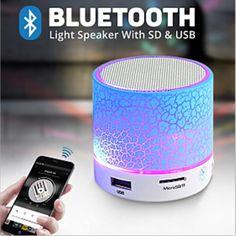 Super Bass Bluetooth Wireless Mini LED Speaker TF FM Radio mp3 Fr Samsung iPhone