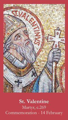 Another St. Valentine Prayer Card