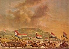 Hongi-voyages - a warfleet that sailed out for the VOC in order to destroy the clove trees outside Ambon to maintain the companies monopoly. The first voyage took place in 1607. Around 1658 these voyages became less frequent.