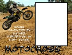 8x6 Dirt Track Motocross Picture Frame by SapphireCustomPhotos, $5.00