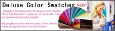 Deluxe color swatches icon