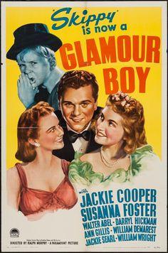 Glamour Boy (1941) Stars: Jackie Cooper, Susanna Foster, Walter Abel ~ Directors: Ralph Murphy, Ted Tetzlaff