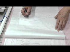 Patchwork Ao Vivo #51: técnica Landscape e quilting livre - YouTube
