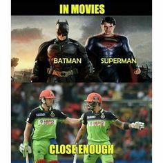 Really close enough T20 Cricket, Cricket Sport, Ab De Villiers Photo, Funny Facts, Funny Memes, Virat Kohli Wallpapers, Cricket Wallpapers, Barbie Images, Crazy Fans
