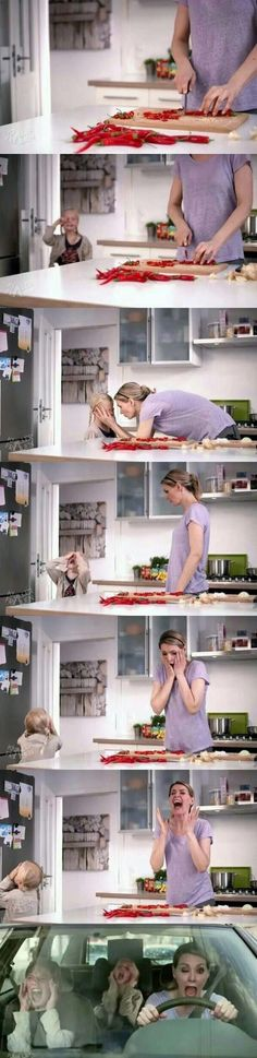 This will probably be me as a mother......