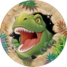 Pack of 8 Dino Blast Paper Party Plates Ideal party tableware - Dinosaur Party Supplies Dinosaur Wedding, Dinosaur Birthday Party, Birthday Lunch, Happy Birthday, Balloon Birthday, Birthday Wishes, Birthday Parties, Dinosaur Balloons, Dinosaur Cake