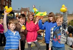 Lions raise more than than £2,000 at annual duck race