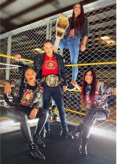 """The enemy of my enemy is my ally. Wrestling Stars, Wrestling Divas, Women's Wrestling, Wwe Divas Paige, Nxt Divas, Total Divas, Shayna Baszler, Wwe Sasha Banks, Wwe Girls"