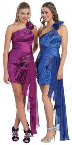 One Shoulder #Prom Dress