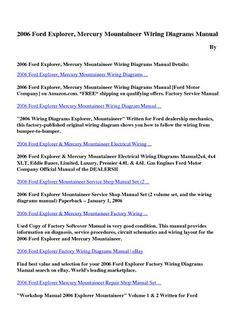 6b63ebf7ff126cb25f7c40ae2591c2a0 mercury ford cars mountaineer mercury mountaineer pinterest mercury 2006 Lincoln Zephyr Wiring Diagrams at gsmx.co