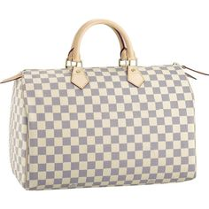 Louis Vuitton Speedy 35 Damier Azur Canvas N41535  my dream bag....