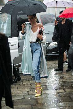 Milan Fashion Week, a primavera-verão 2016: o estilo de rua. Part 1 (Foto 19