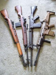 Gun of the Day – M1 M14 FN FAL FN SCAR-17 olld .308 WIN.
