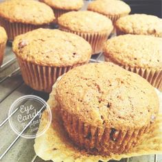 Oat, apple and almond butter muffins (dairy-free, wheat-free, low-sugar)