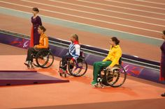 here is a medal ceremony, Team GB win again