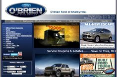 O'Brien Ford of Shelbyville, KY.  I love O'Brien Ford!!   They have become part of our family.   Can't say enough about them!!