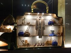 "SALVATORE FERRAGAMO, ""Inside a women's handbag...........more handbags"", photo by Step into the Window, pinned by Ton van der Veer"
