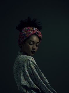 Moody portraits inspired by  Tretchikoff | Nargis Musawwir  by Cape Town photographer Paul Cocks