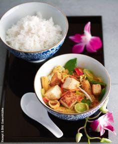 Rotes Tofu-Curry
