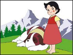 Heidi e Joseph Heidi Cartoon, Cartoon Tv, Cartoon Characters, Fictional Characters, Old Anime, Manga Anime, Baby Wall Art, Love Pet, Cute Images