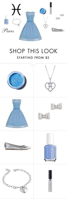 """♓Pisces♓"" by adventuretimekitty ❤ liked on Polyvore featuring moda, Lime Crime, BERRICLE, Marc by Marc Jacobs, GUESS, Essie, West Coast Jewelry, zodiac e Pisces"
