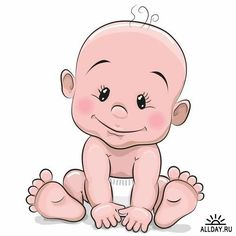 Cute cartoon Baby